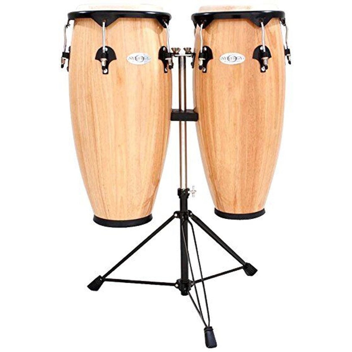 Toca Synergy Congas (with Stand), Natural