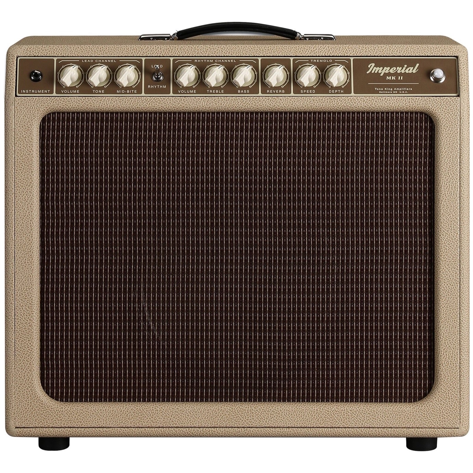 Tone King Imperial MkII (20 watts, 1x12 Inch), Cream