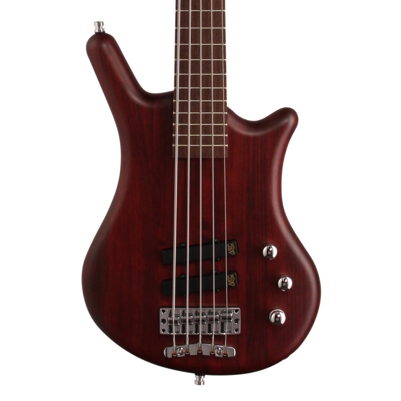 Warwick GPS German Pro Series Thumb BO 5 Electric Bass, 5-String (with Gig Bag), Red Oil copy