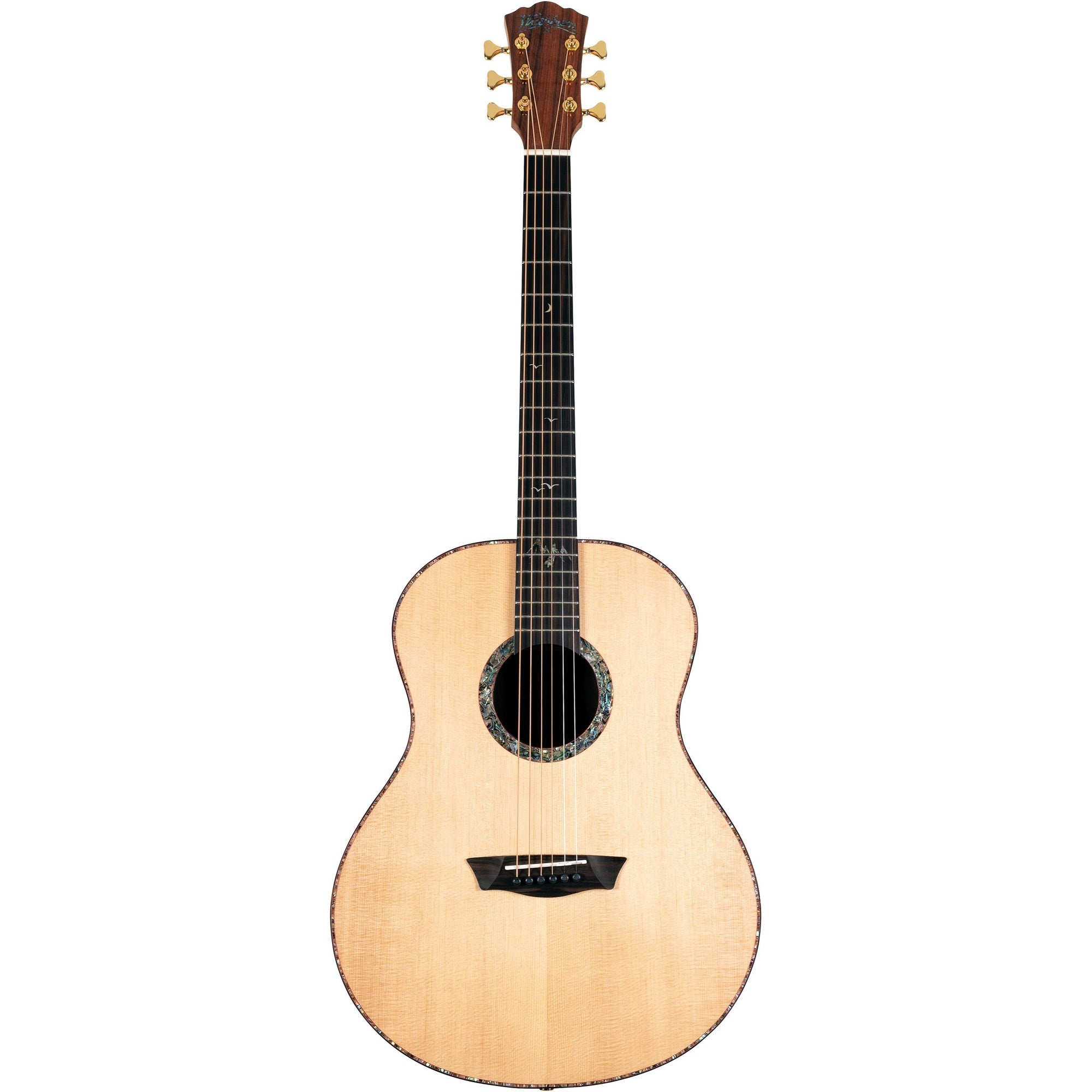 Washburn Bella Tono Elegante S24S Acoustic Guitar, Natural