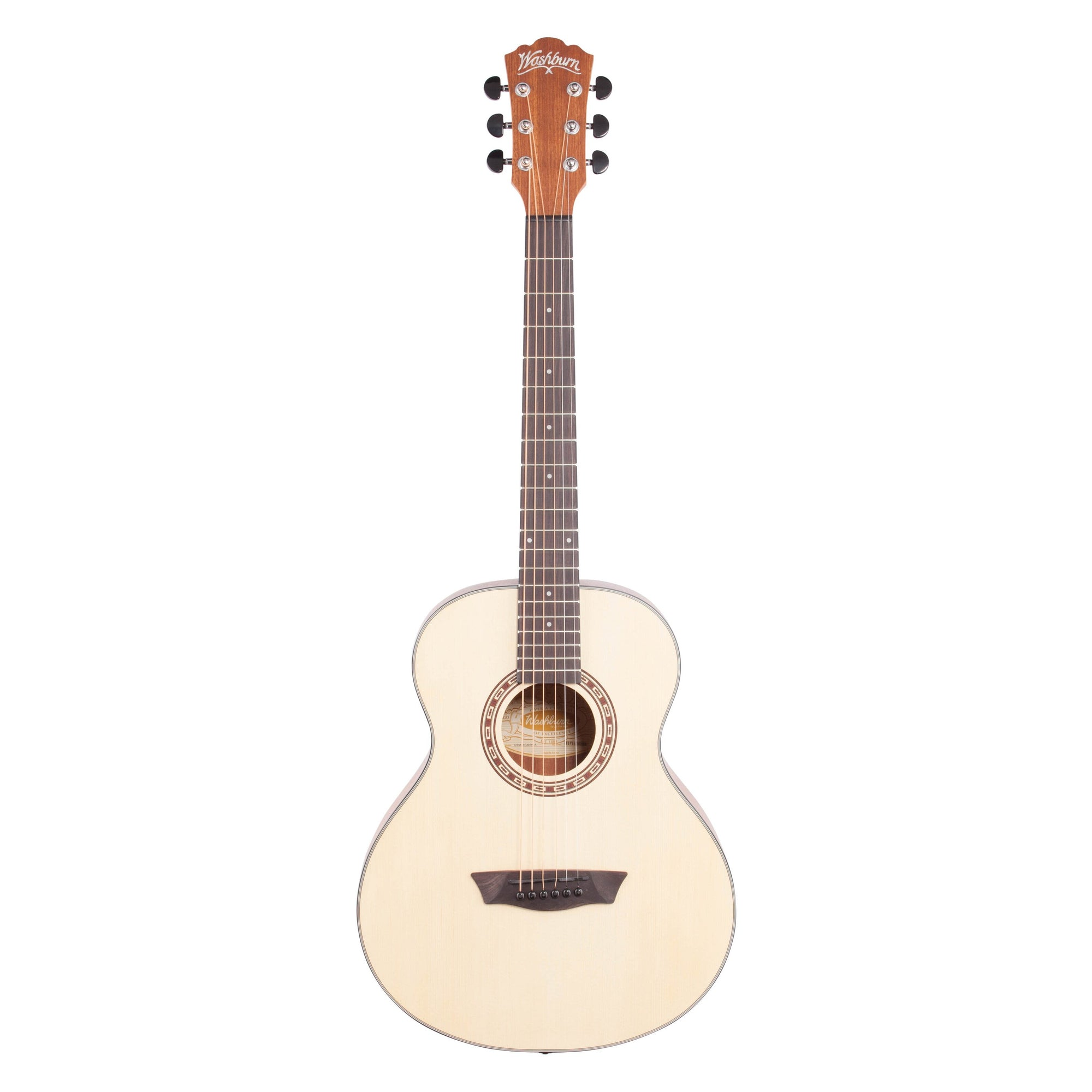 Washburn G Mini Acoustic Guitar (with Gig Bag)