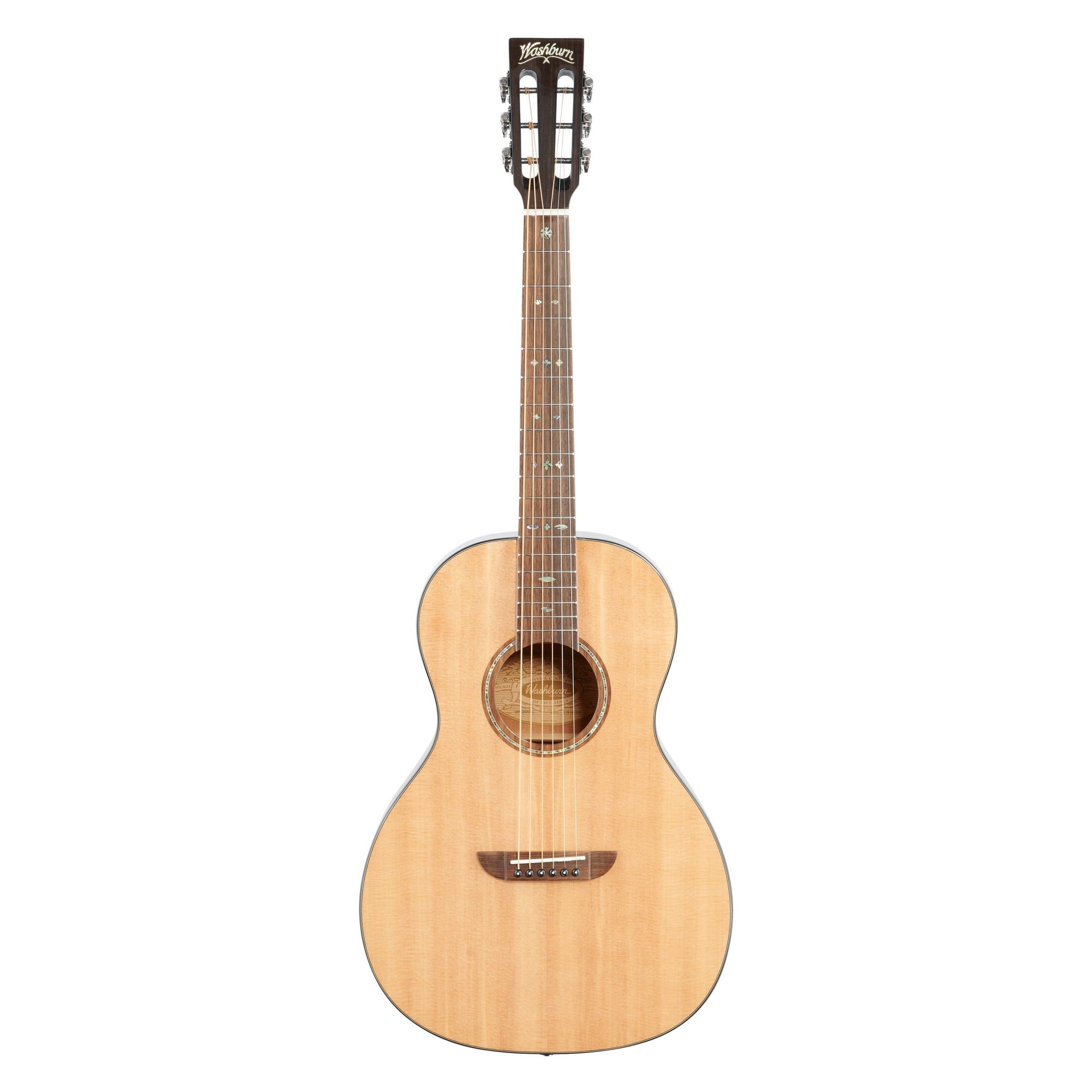 Washburn P33S Royal Sapphire Acoustic Guitar, Natural