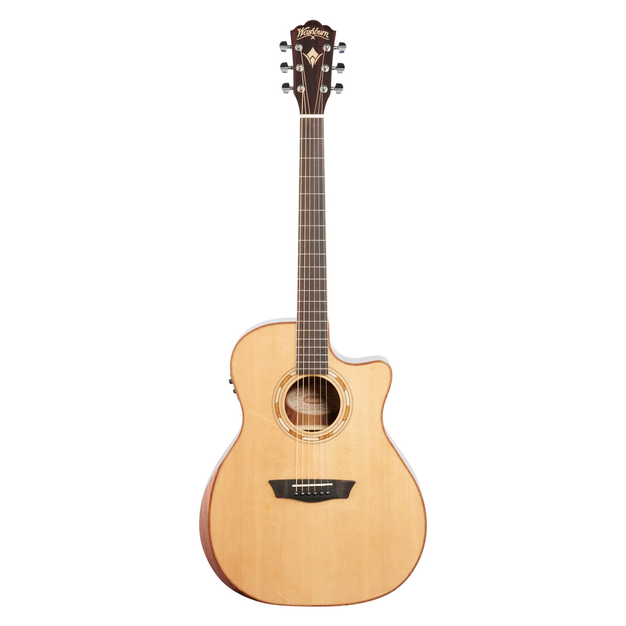 Washburn WCG20SCE O Comfort 20 Grand Auditorium Acoustic-Electric Guitar