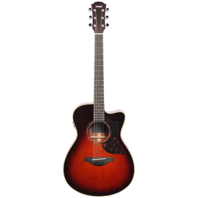 Yamaha AC3M ARE Acoustic-Electric Guitar (with Gig Bag), Tobacco Brown Sunburst