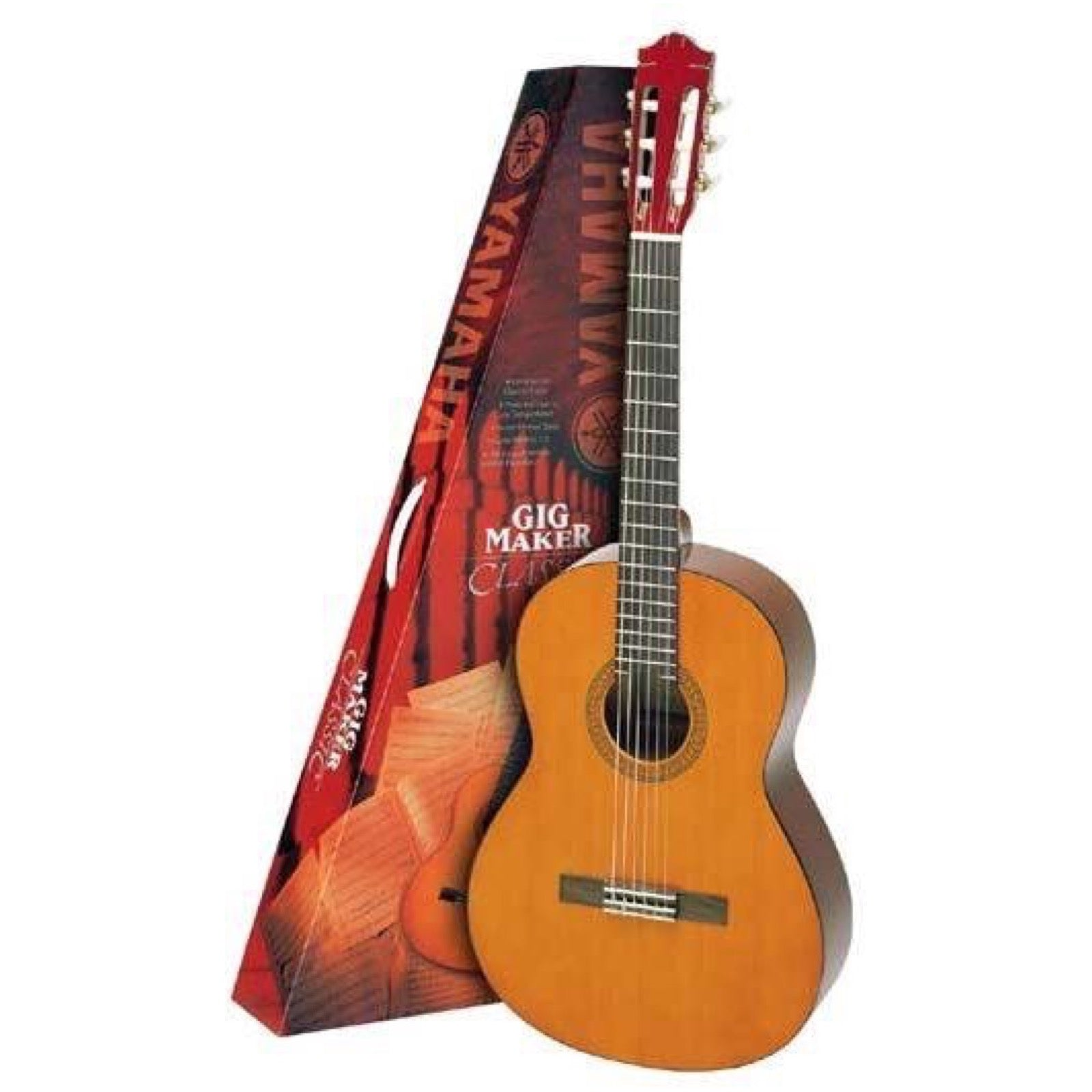 Yamaha C40 Classical Acoustic Guitar Package, with Guitar and Case