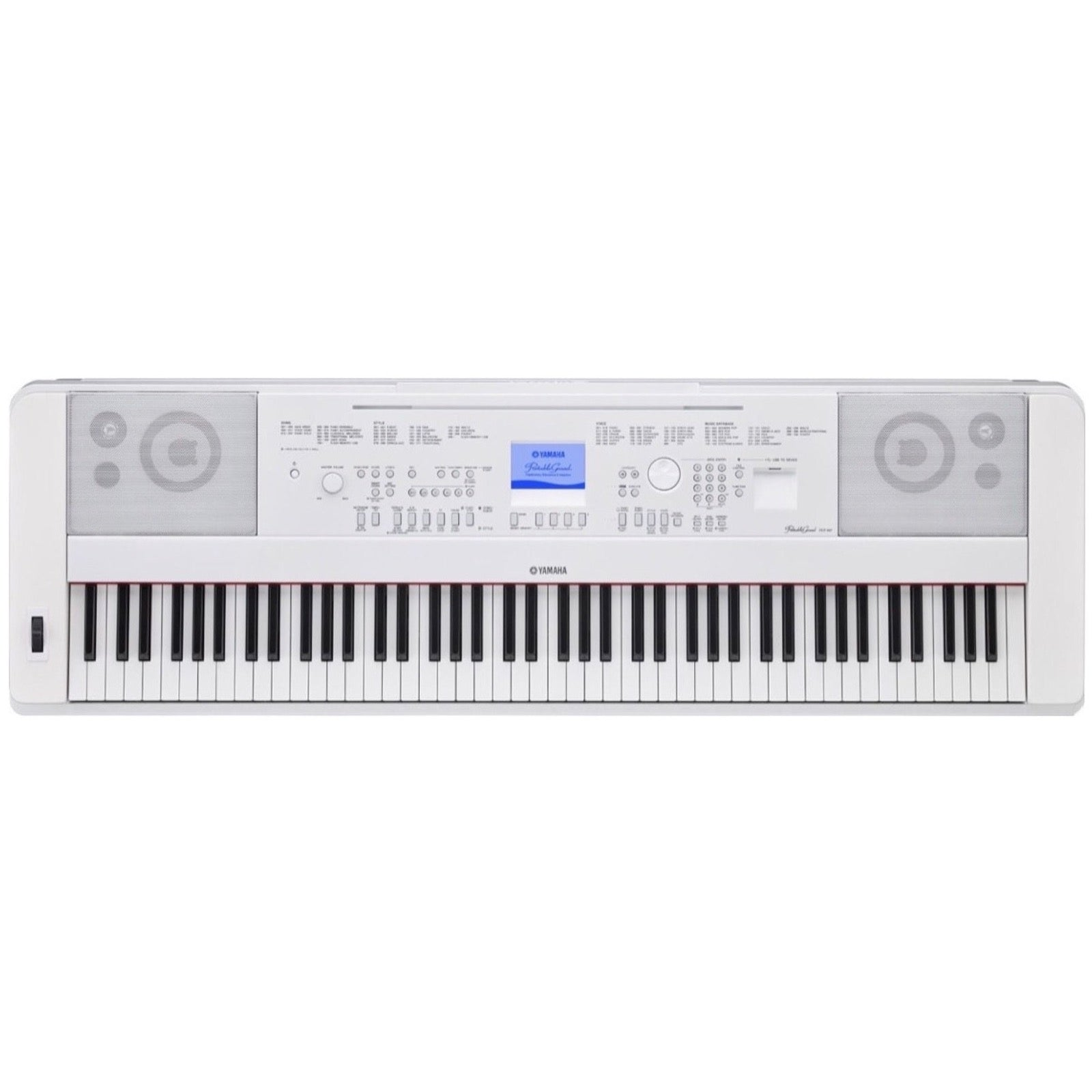 Yamaha DGX-660 Portable Digital Piano, White