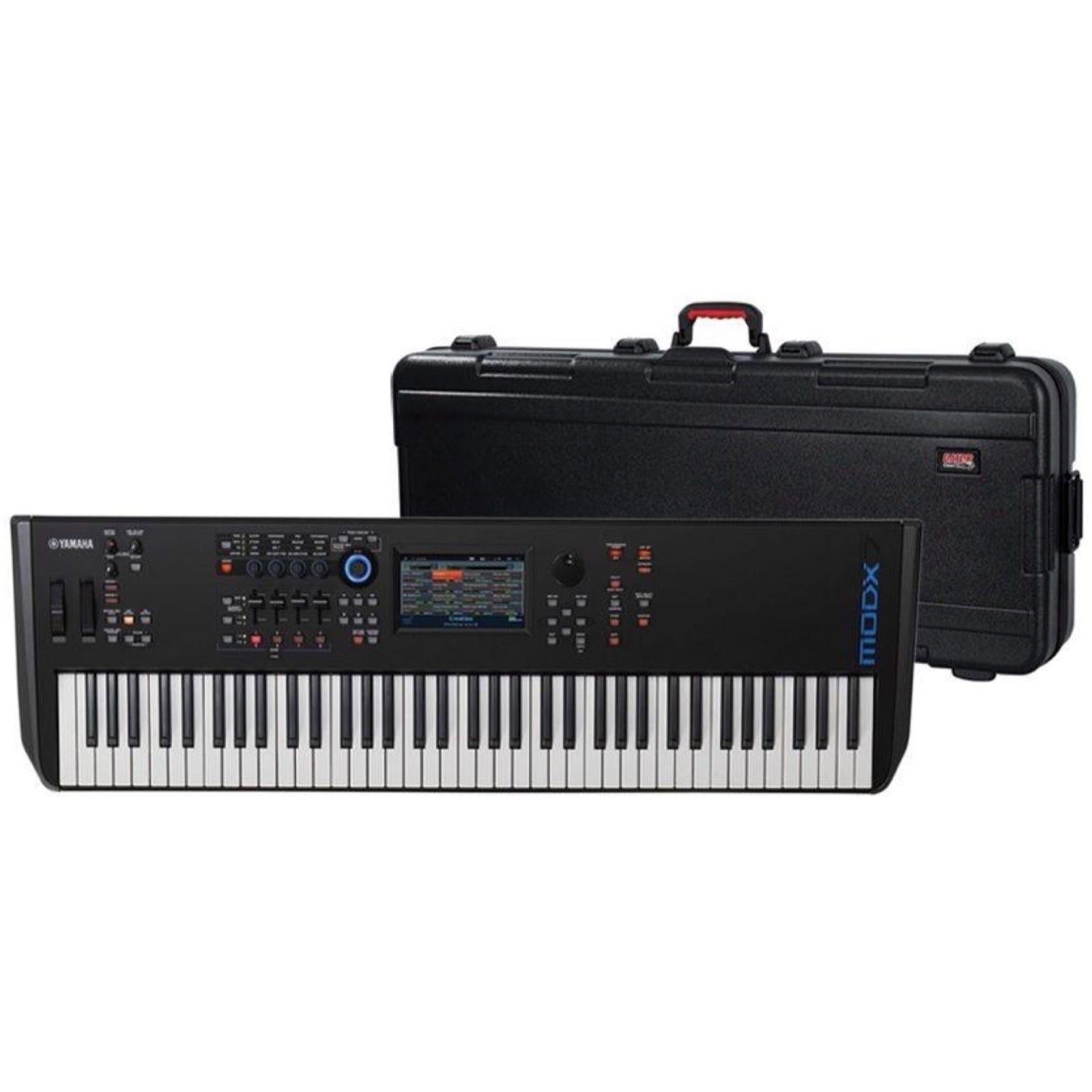 Yamaha MODX7 Keyboard Synthesizer, 76-Key, with Gator Case