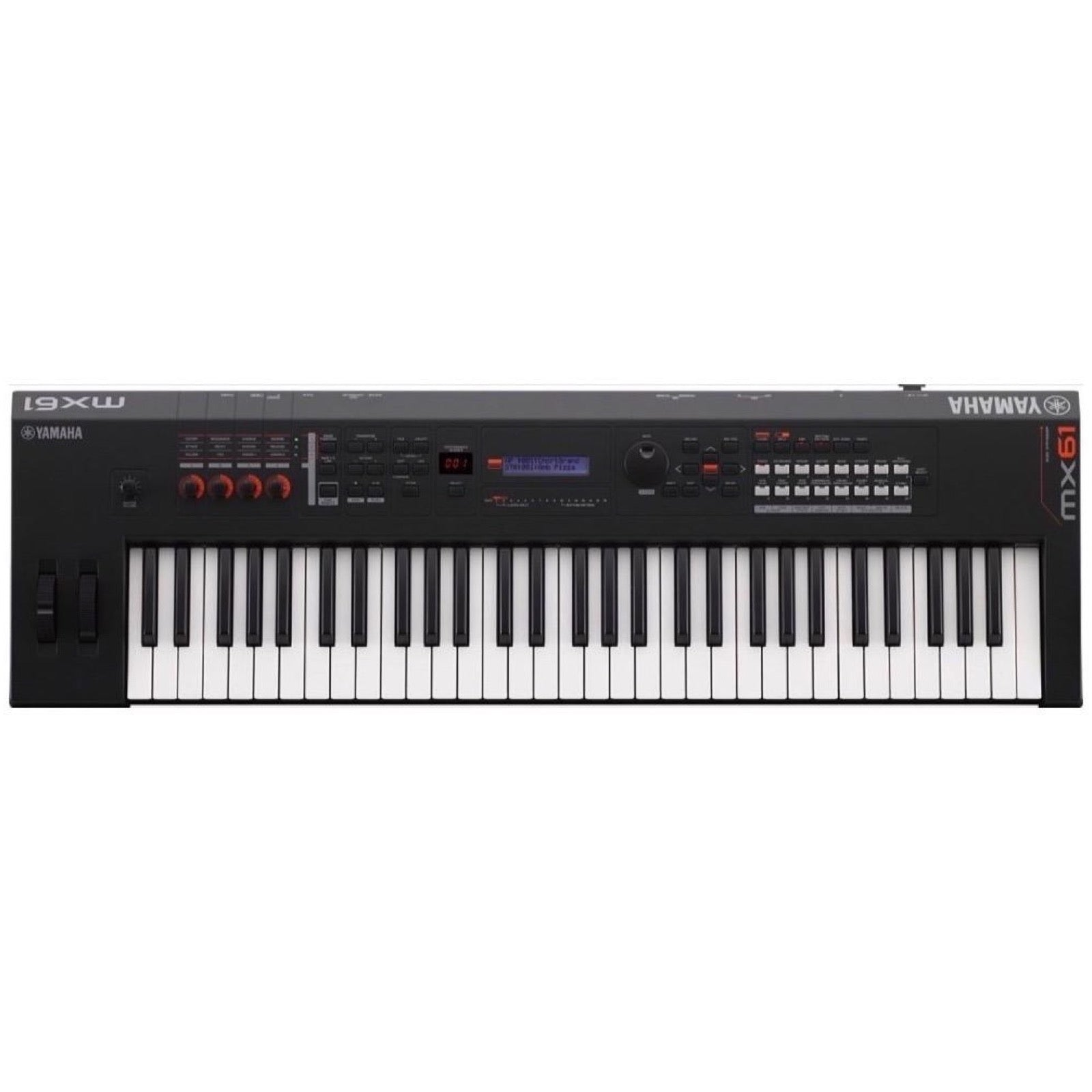 Yamaha MX61 v2 Keyboard Synthesizer, 61-Key, Black