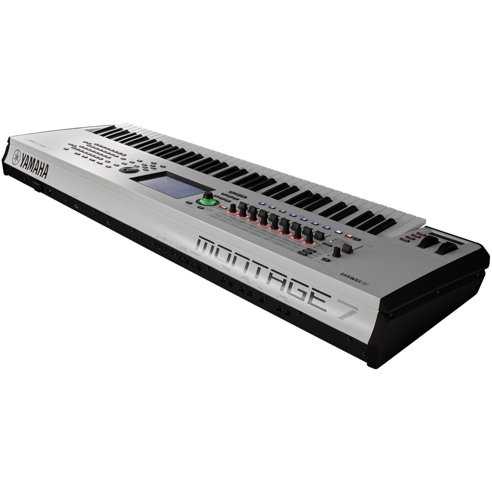 Yamaha Montage 7 Keyboard Synthesizer, 76-Key, White