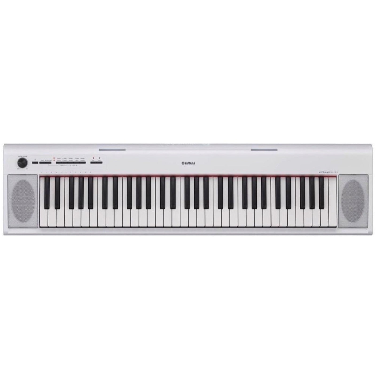 Yamaha NP12 Piaggero Portable Digital Piano, White
