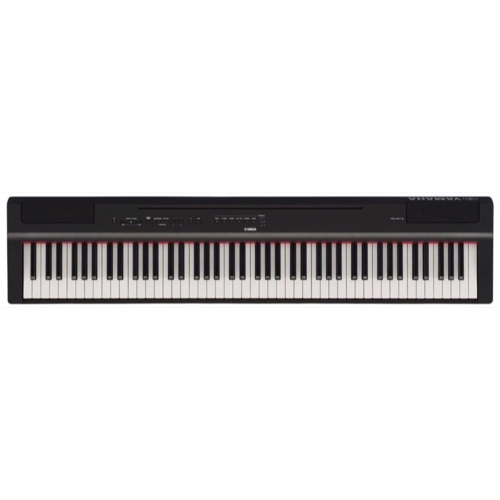 Yamaha P-125 Digital Stage Piano, 88-Key, Black