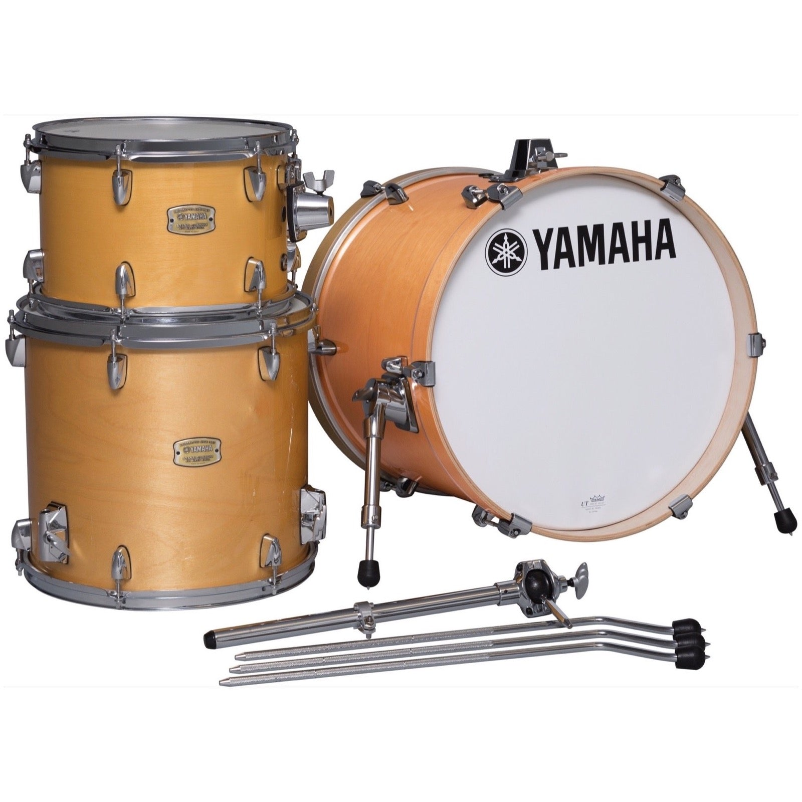 Yamaha SBP8F3 Stage Custom Bop Drum Shell Kit, 3-Piece, Natural