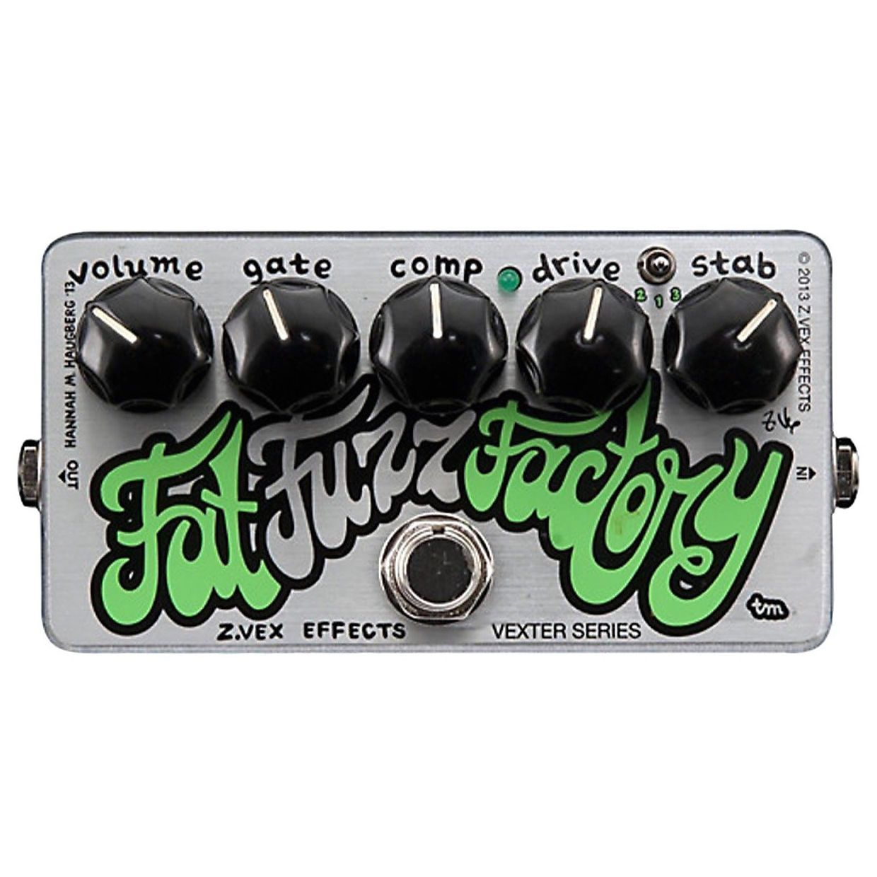 ZVEX Vexter Fat Fuzz Factory Germanium Fuzz Pedal