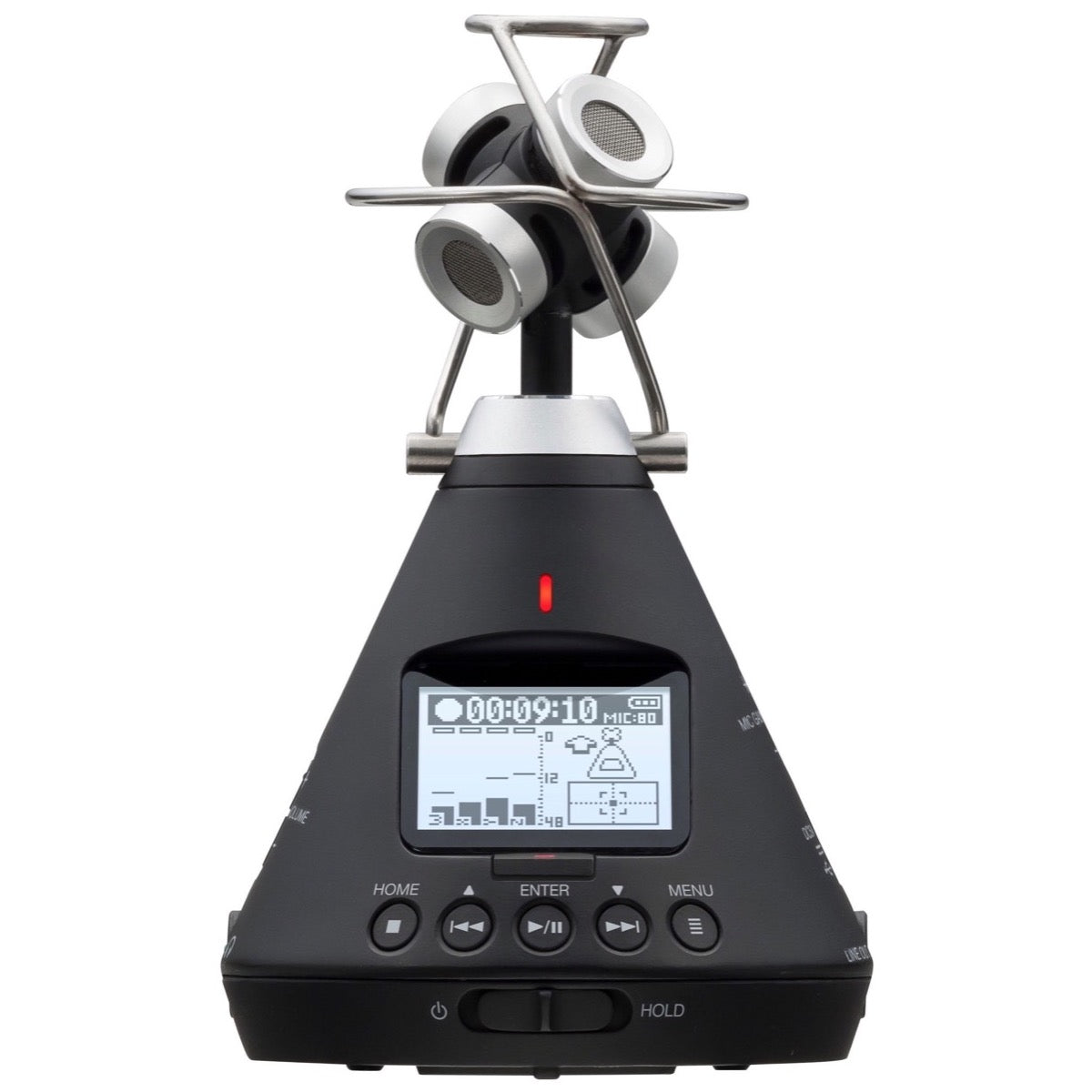 Zoom H3-VR 360 Degree VR Ambisonic Portable Recorder