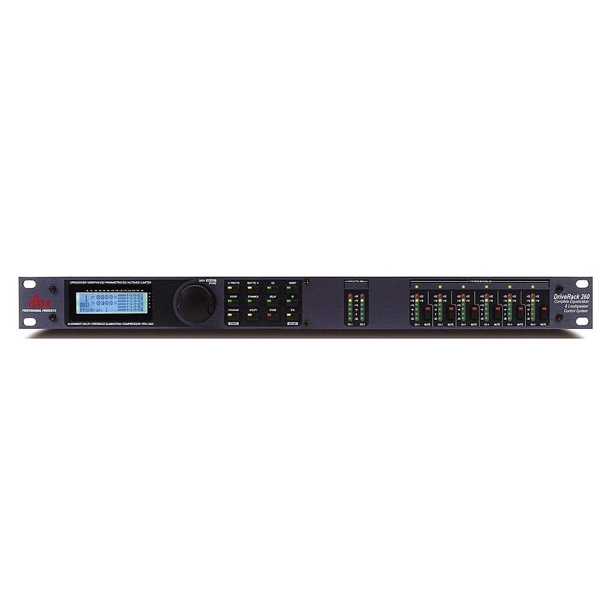 dbx DriveRack 260 EQ and Speaker Control Processor