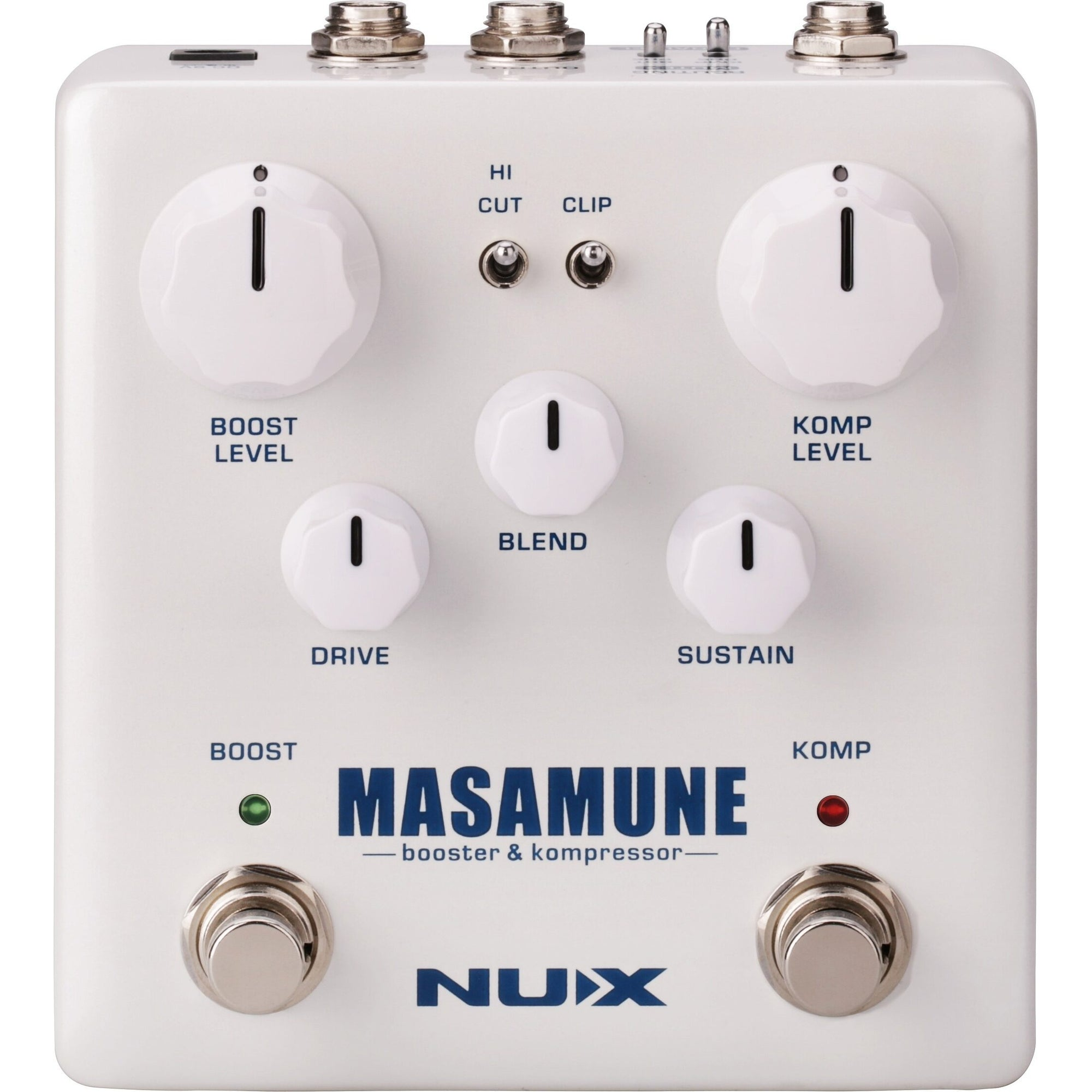 NUX Masamune 2-in-1 Compressor and Boost Pedal