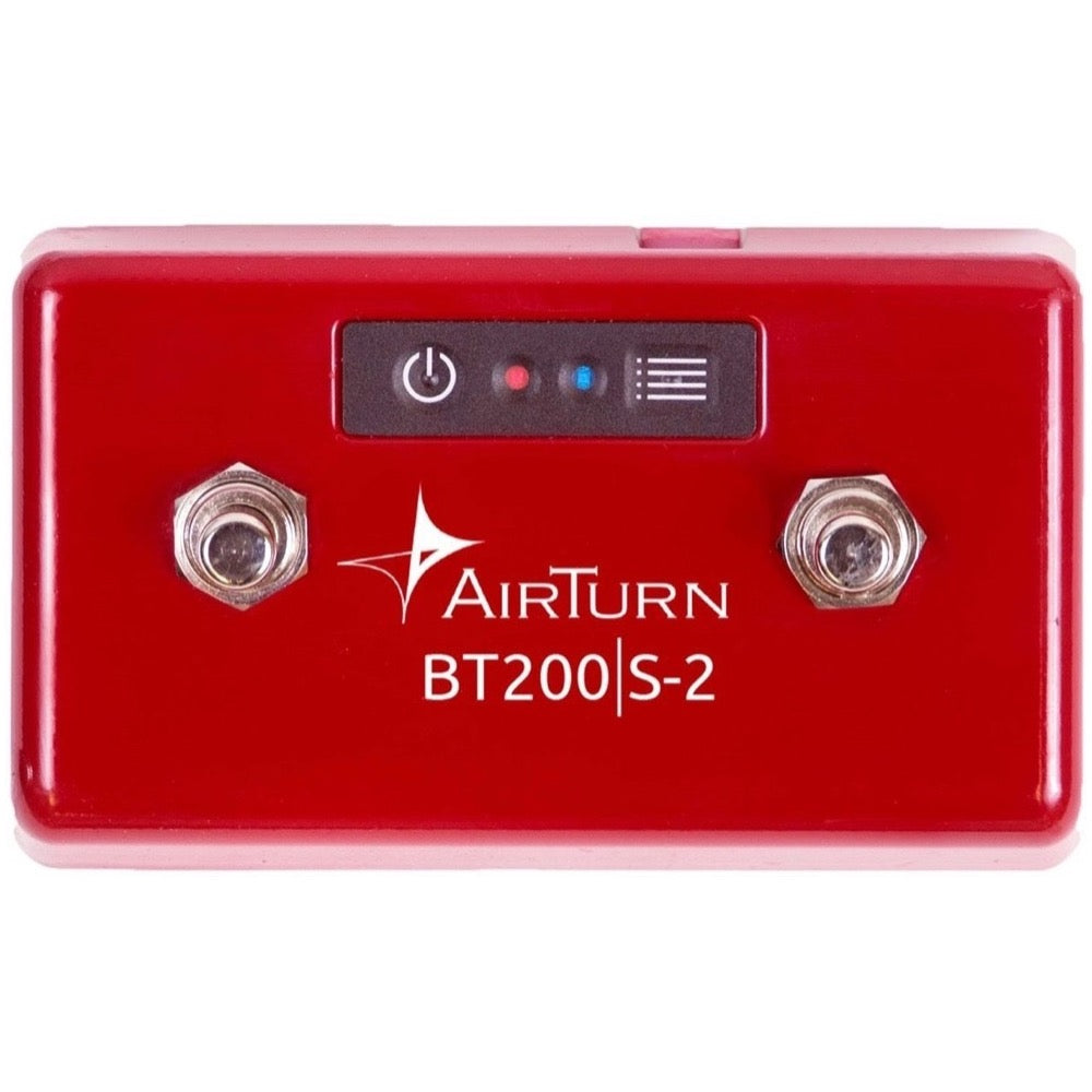 AirTurn BT200S-2 Bluetooth Footswitch Controller