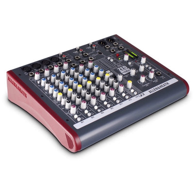 Allen and Heath ZED10FX 10-Channel Mixer with USB Interface