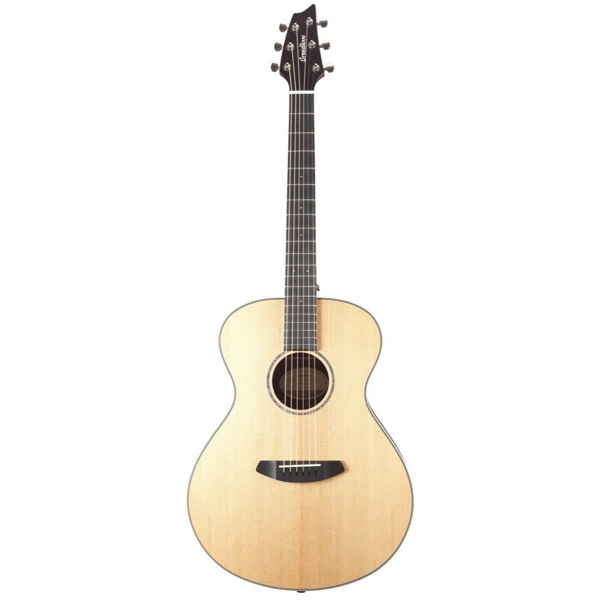 Breedlove Pursuit Exotic Concert ESS Koa Acoustic-Electric Guitar (with Gig Bag)