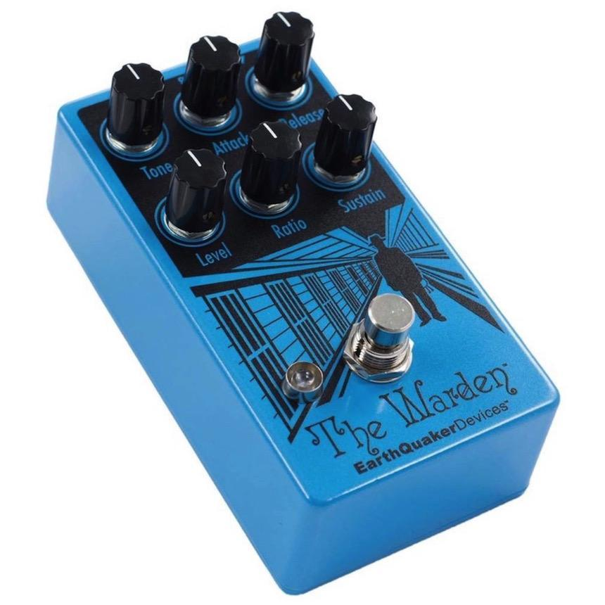 EarthQuaker Devices The Warden V2 Optical Compression Pedal