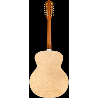Guild F-512E Jumbo Maple Acoustic-Electric Guitar, 12-String (with Case)