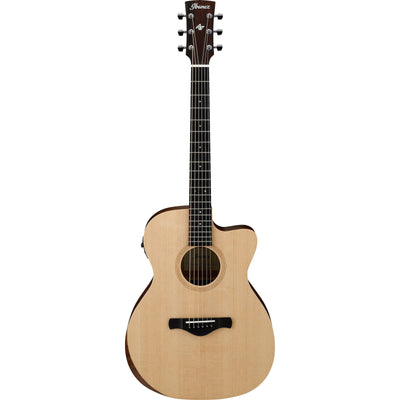 Ibanez AC150CE Artwood Traditional Acoustic-Electric Guitar, Open Pore Natural