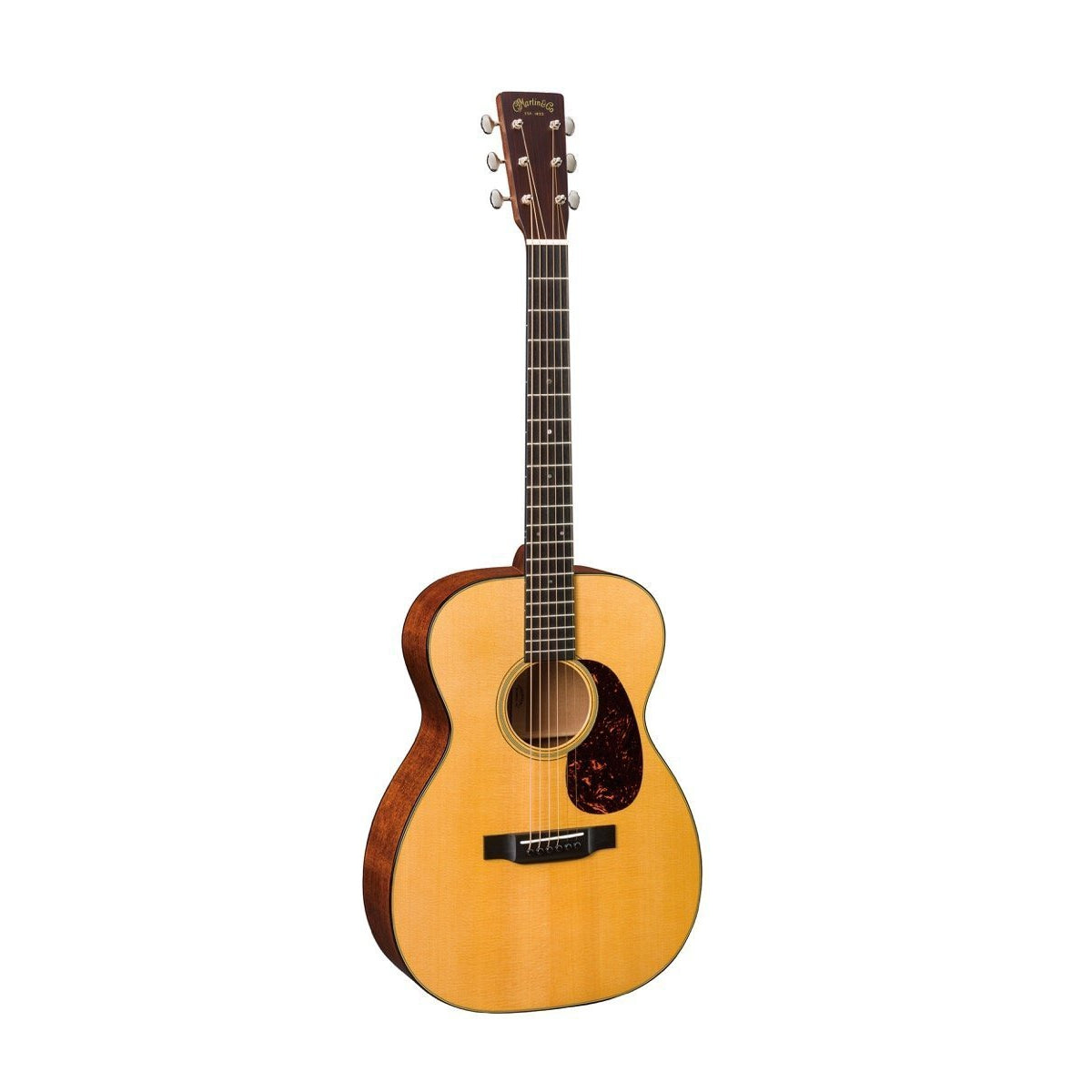 Martin 0018 Grand Concert Acoustic Guitar (with Case), Natural