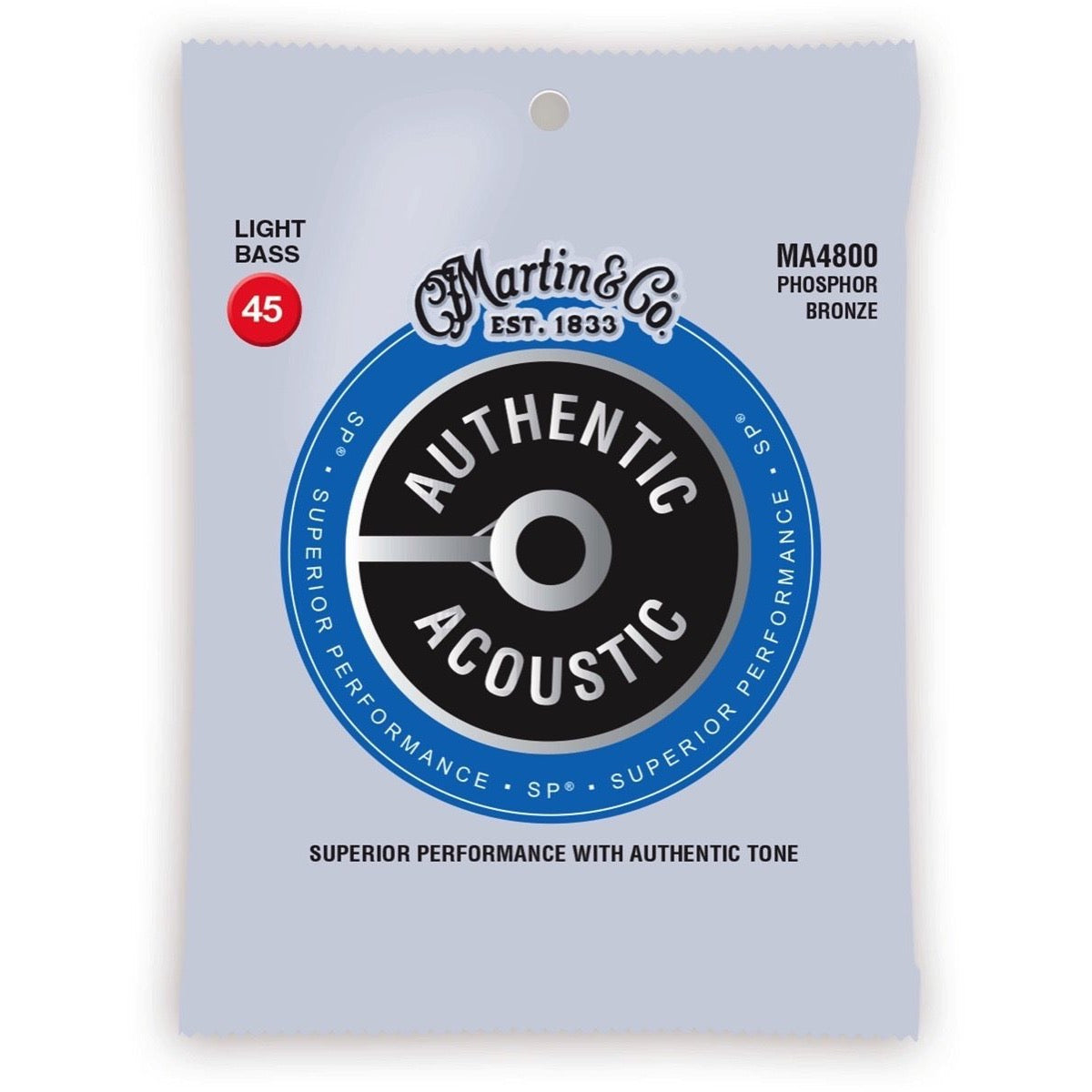 Martin Authentic Acoustic Bass Strings, MA4800