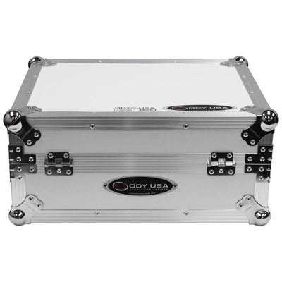 Odyssey FZ1200WT Turntable Flight Case, White