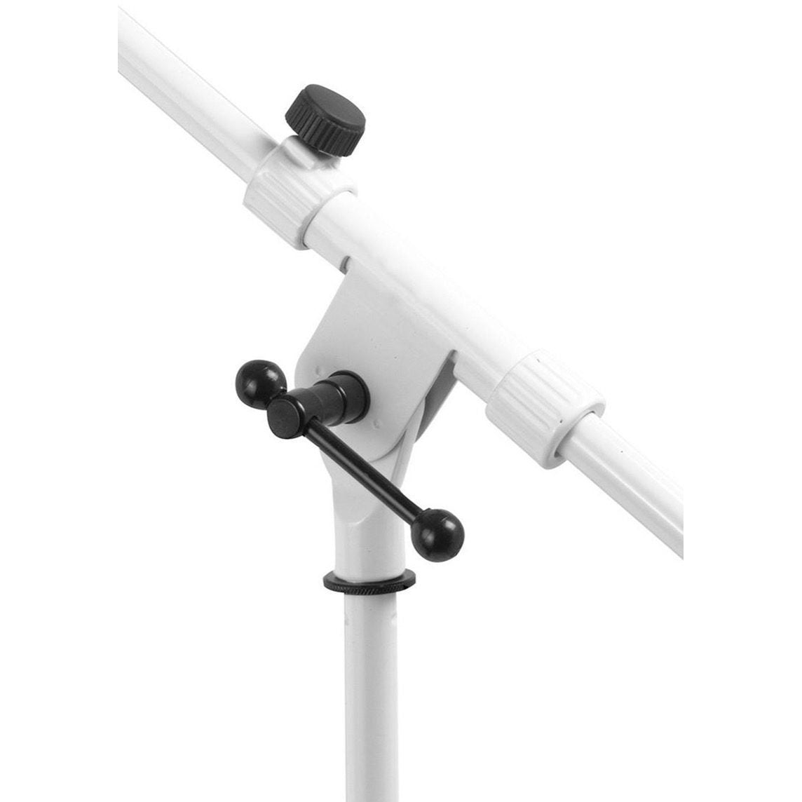 On-Stage MS7801W Euro Boom Microphone Stand, White