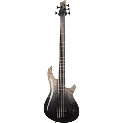 Schecter SLS Elite 5 Electric Bass, 5-String, Black Fade Burst