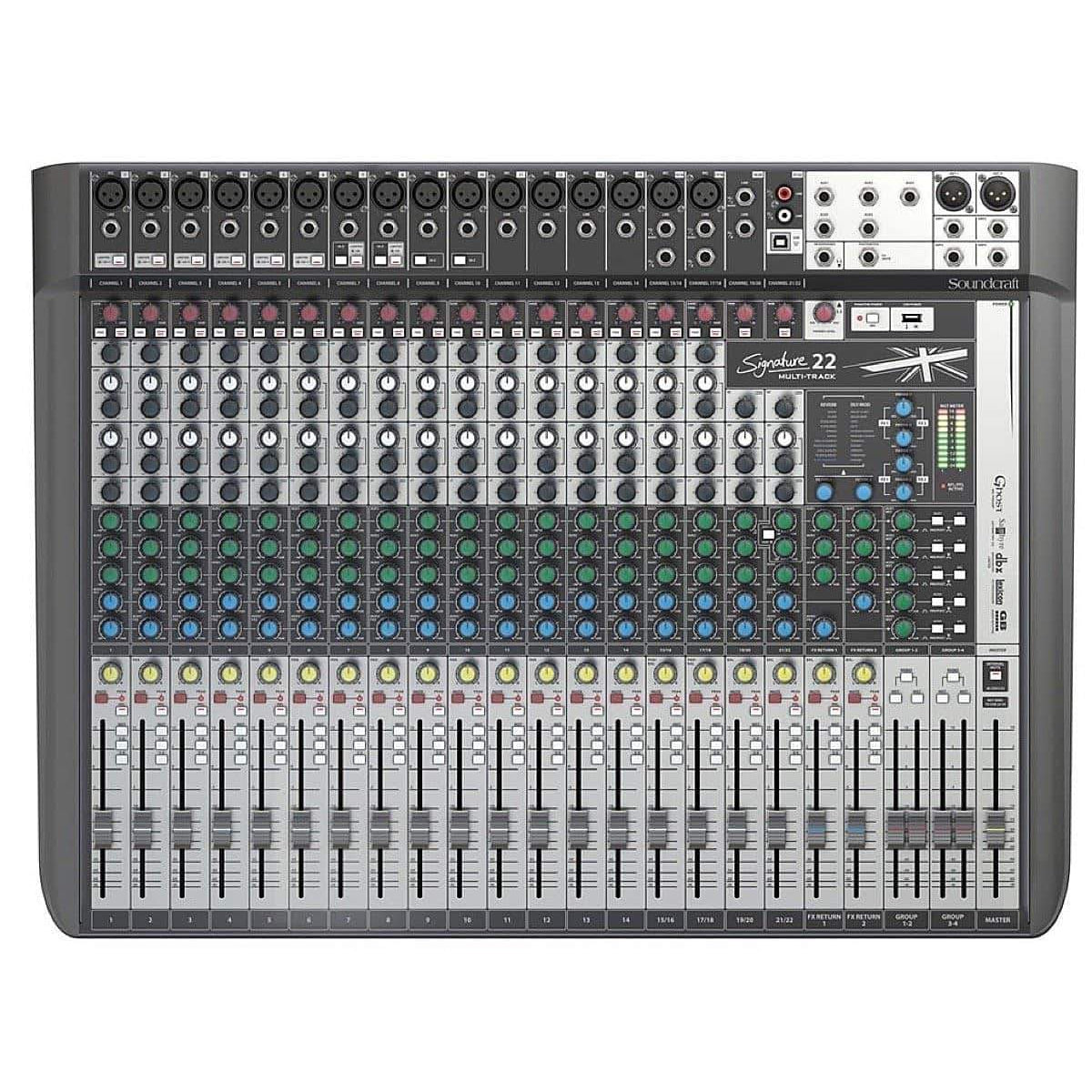 Soundcraft Signature 22 MTK Muti-Track Mixer, 22-Channel