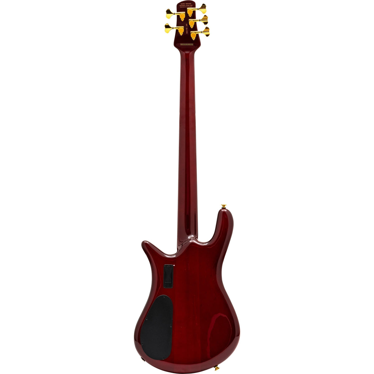 Spector Euro5 LT Electric Bass, 5-String (with Gig Bag), Red Fade Gloss