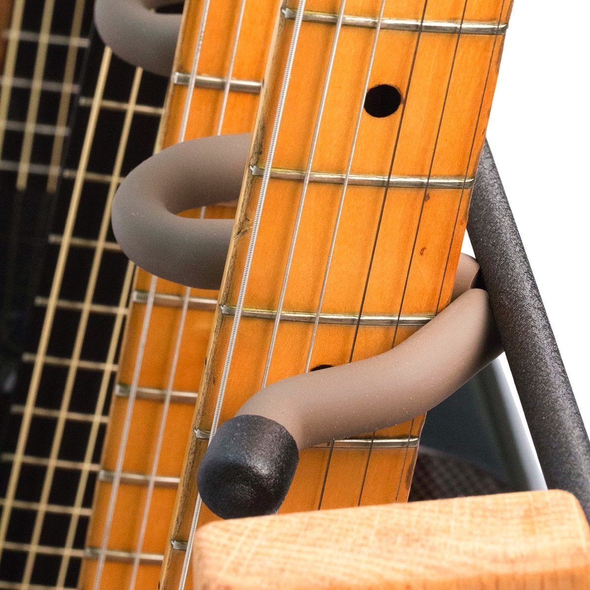 String Swing CC34 Side-Loading Inline Guitar Rack, Natural