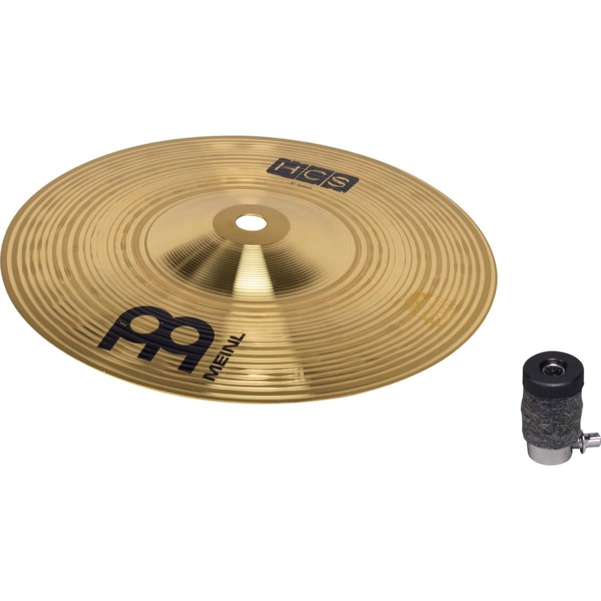 Tama CSH5 Hi-Hat Stack Compact Cymbal Stacker, Pack with Meinl HCS 8 Inch Splash Cymbal