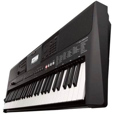Yamaha PSR-E463 Portable Keyboard, 61-Key, Premium Pack, with Y Stand, AC Adapter, and Headphones