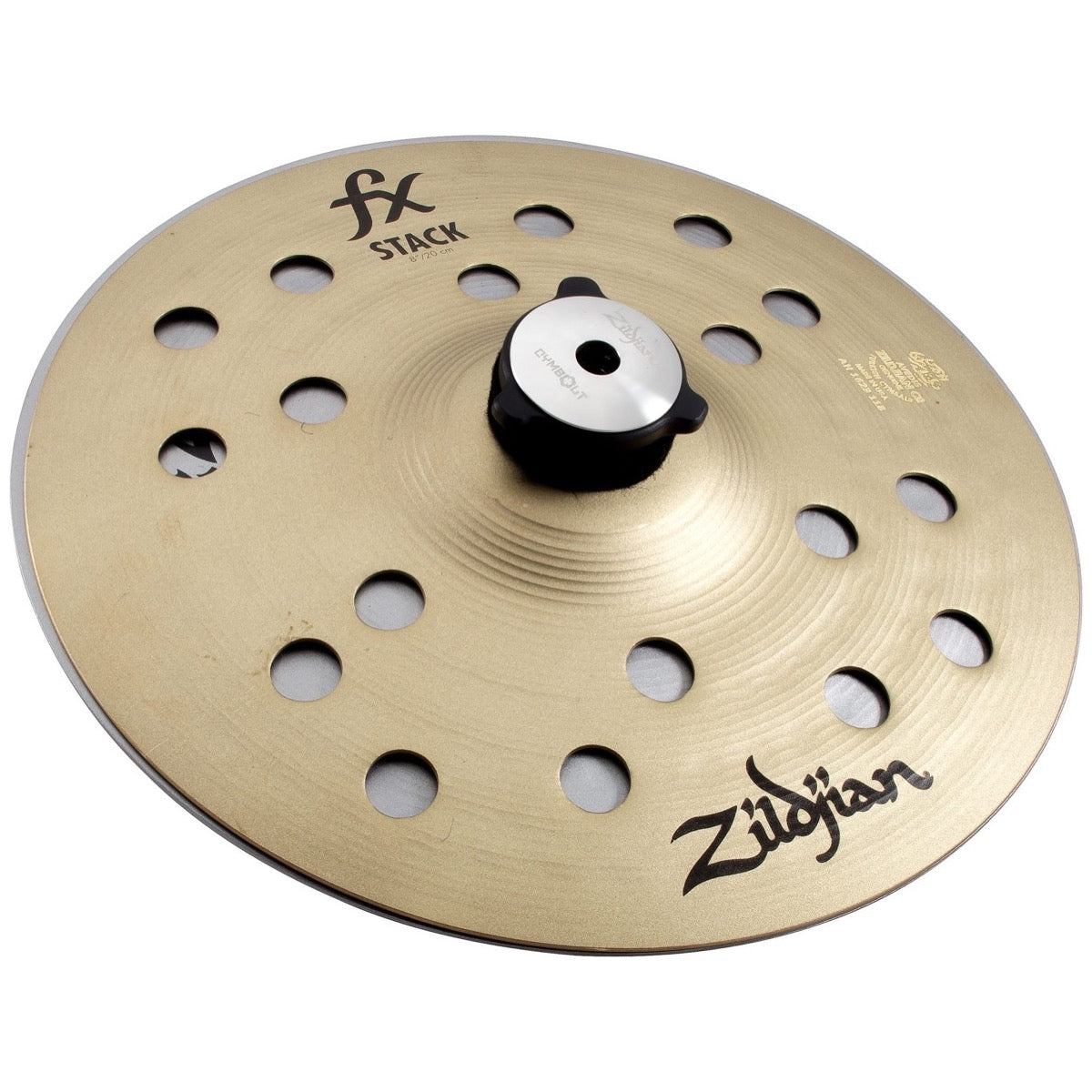 Zildjian FX Stack Hi-Hat Cymbal Pair (with Mount), 8 Inch