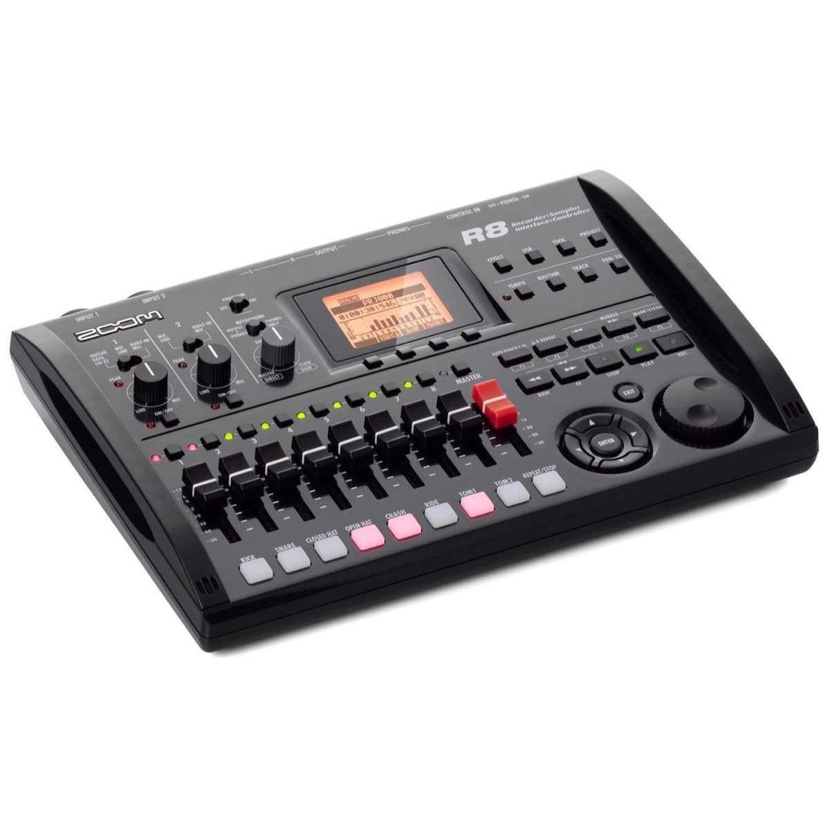 Zoom R8 Multitrack SD Recorder Interface and Controller