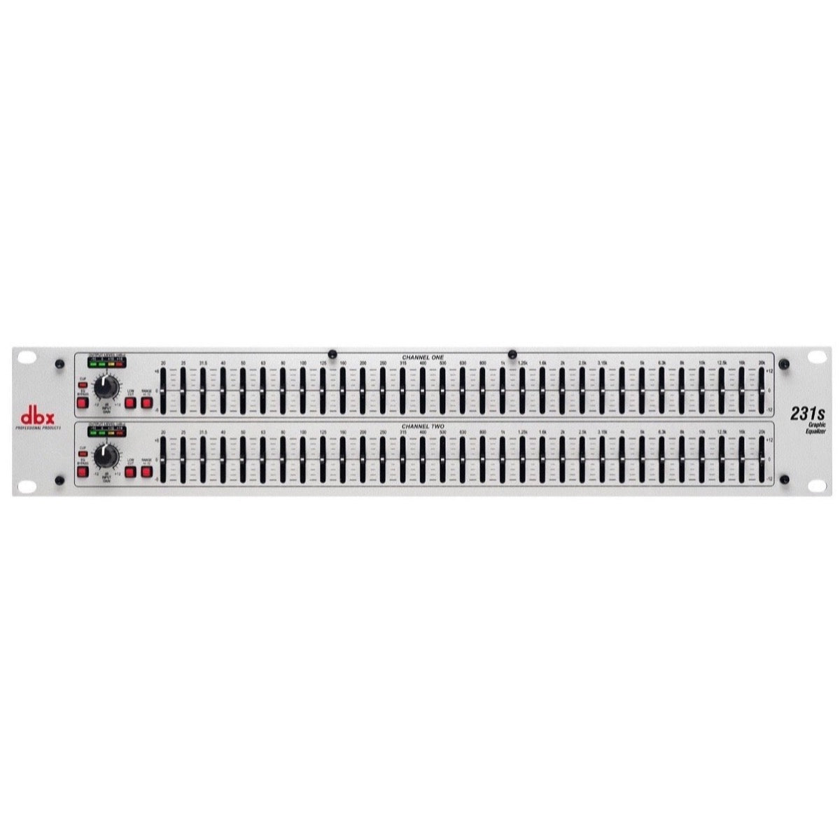 dbx 231S Dual 31-Band Graphic Equalizer
