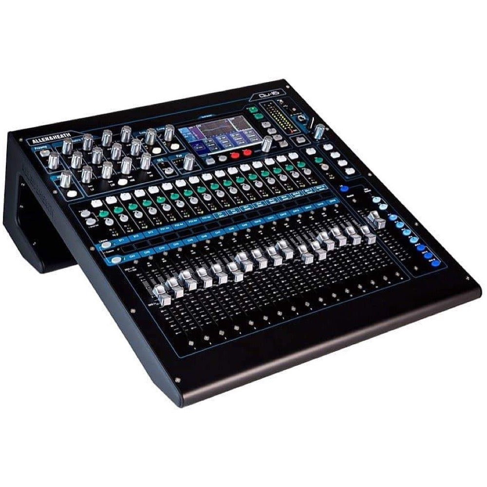 Allen and Heath Qu-16C Digital Mixer, 16-Channel