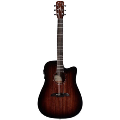 Alvarez AD66CE Dreadnought Acoustic-Electric Guitar, Shadowburst