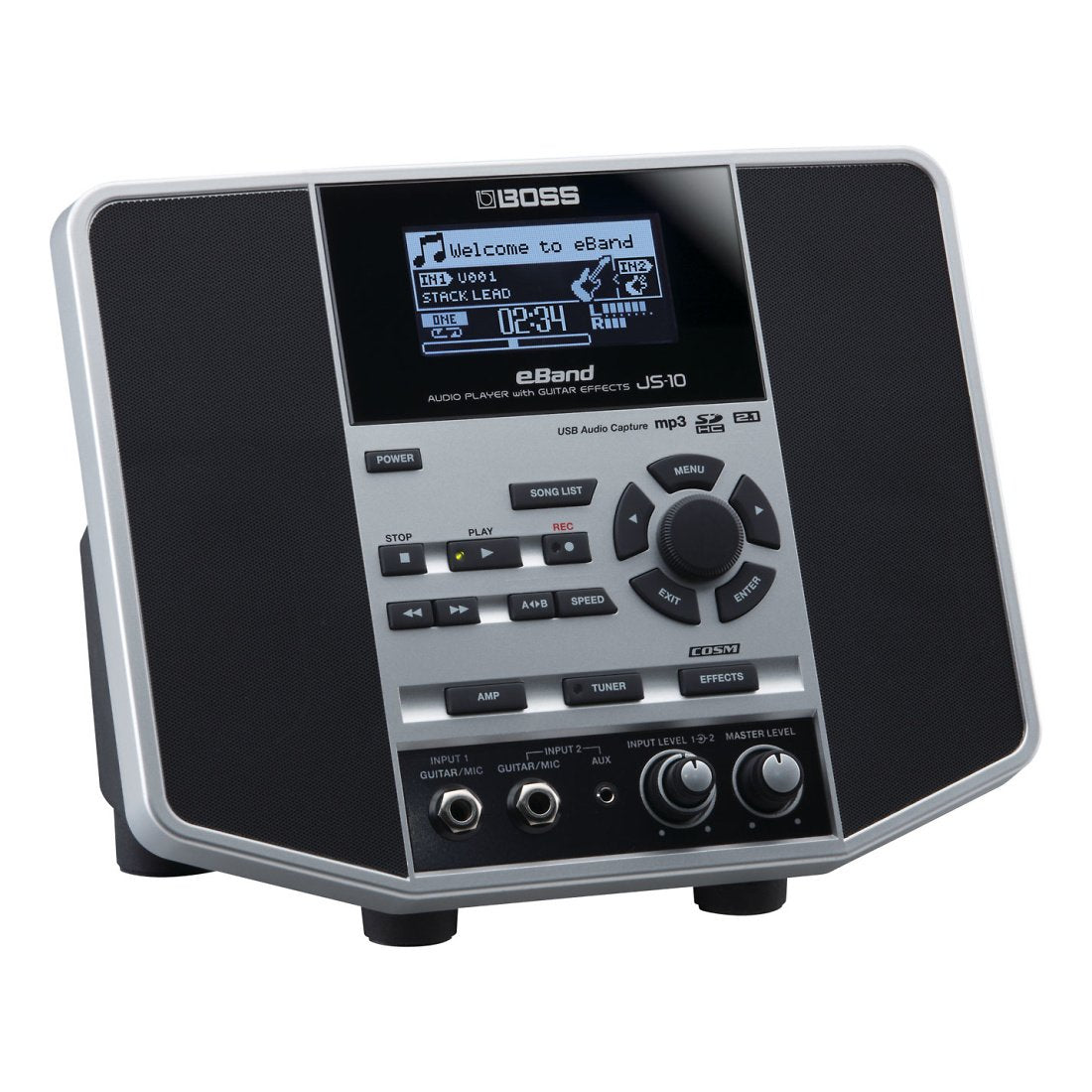 Boss JS-10 eBand Audio Player with Guitar Effects