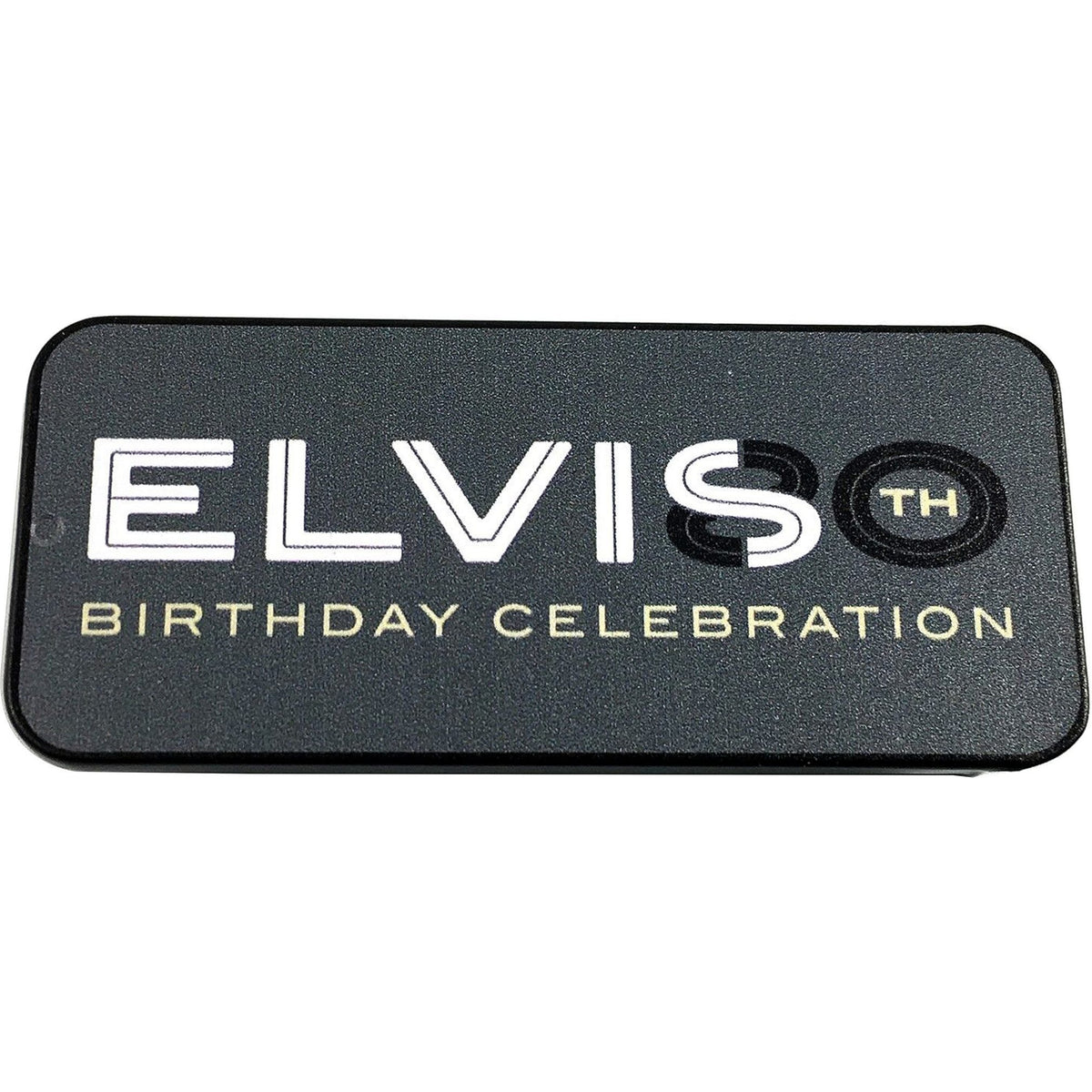 Dunlop EPPT08 Elvis 80th Birthday Collectible Pick Tin