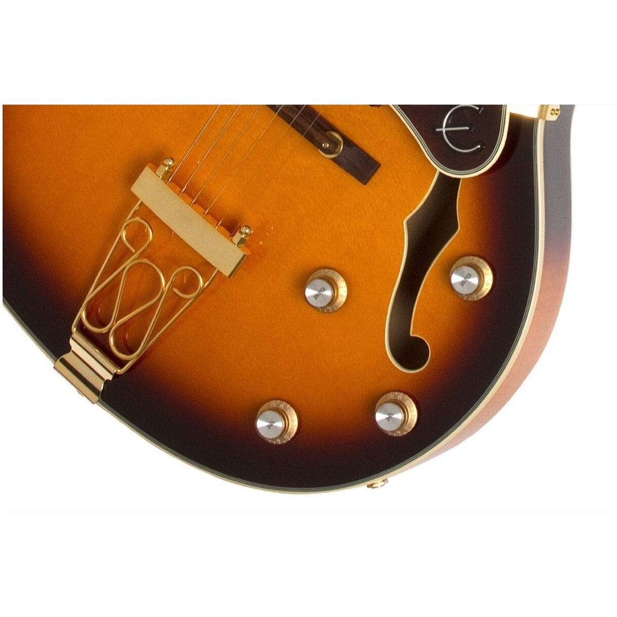 Epiphone Joe Pass Emperor-II PRO Electric Guitar, Vintage Sunburst
