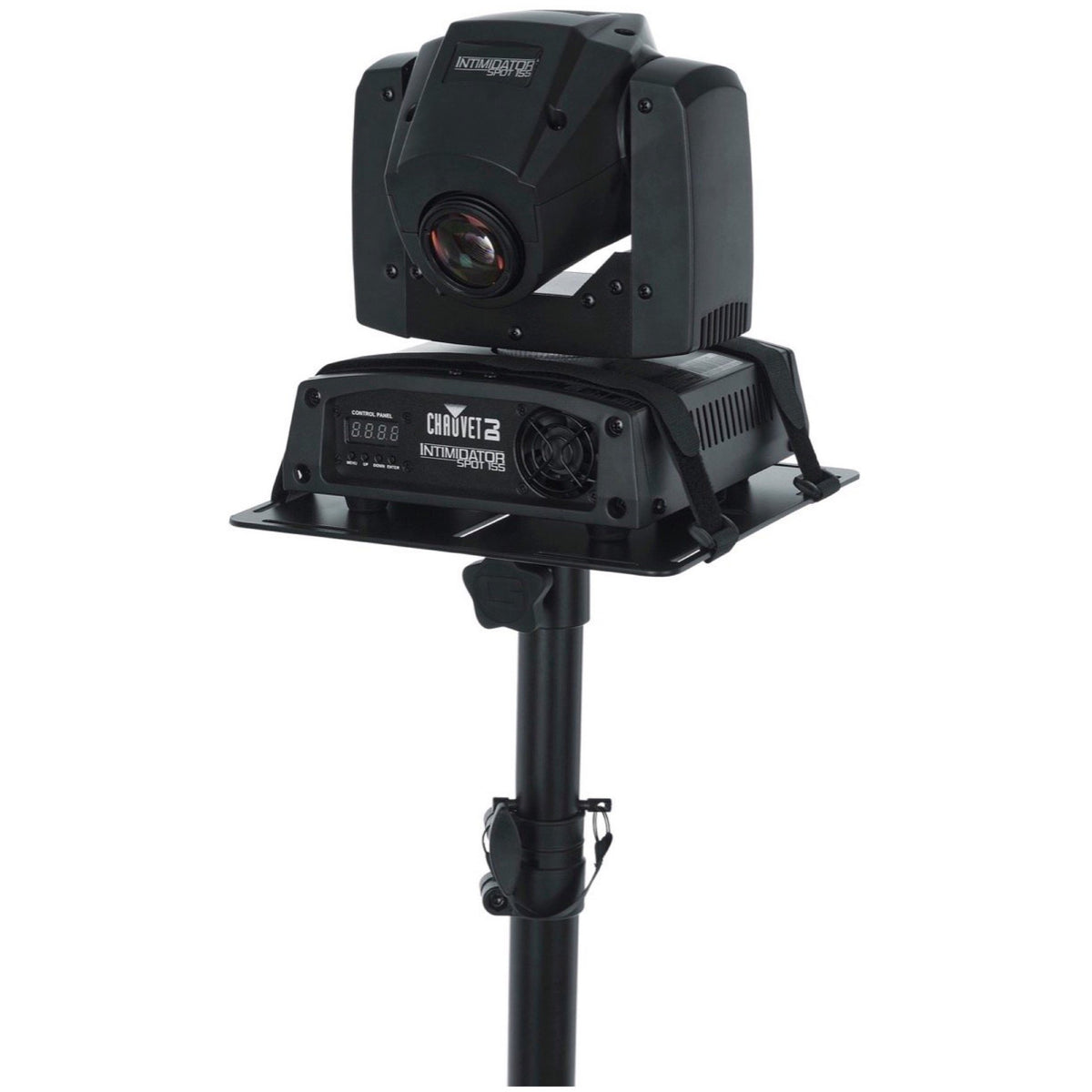 Gator GFW-LIGHTMH250-15 Moving Head Light Standard Quad Stand