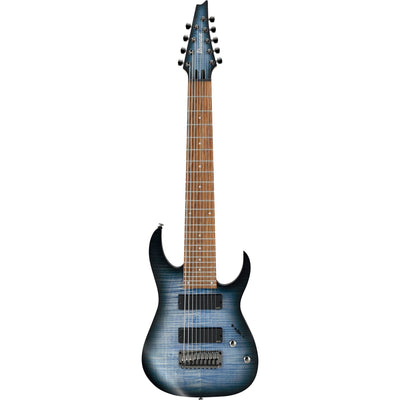 Ibanez RGIR9FME Iron Label Electric Guitar, 9-String, Faded Denim Blue