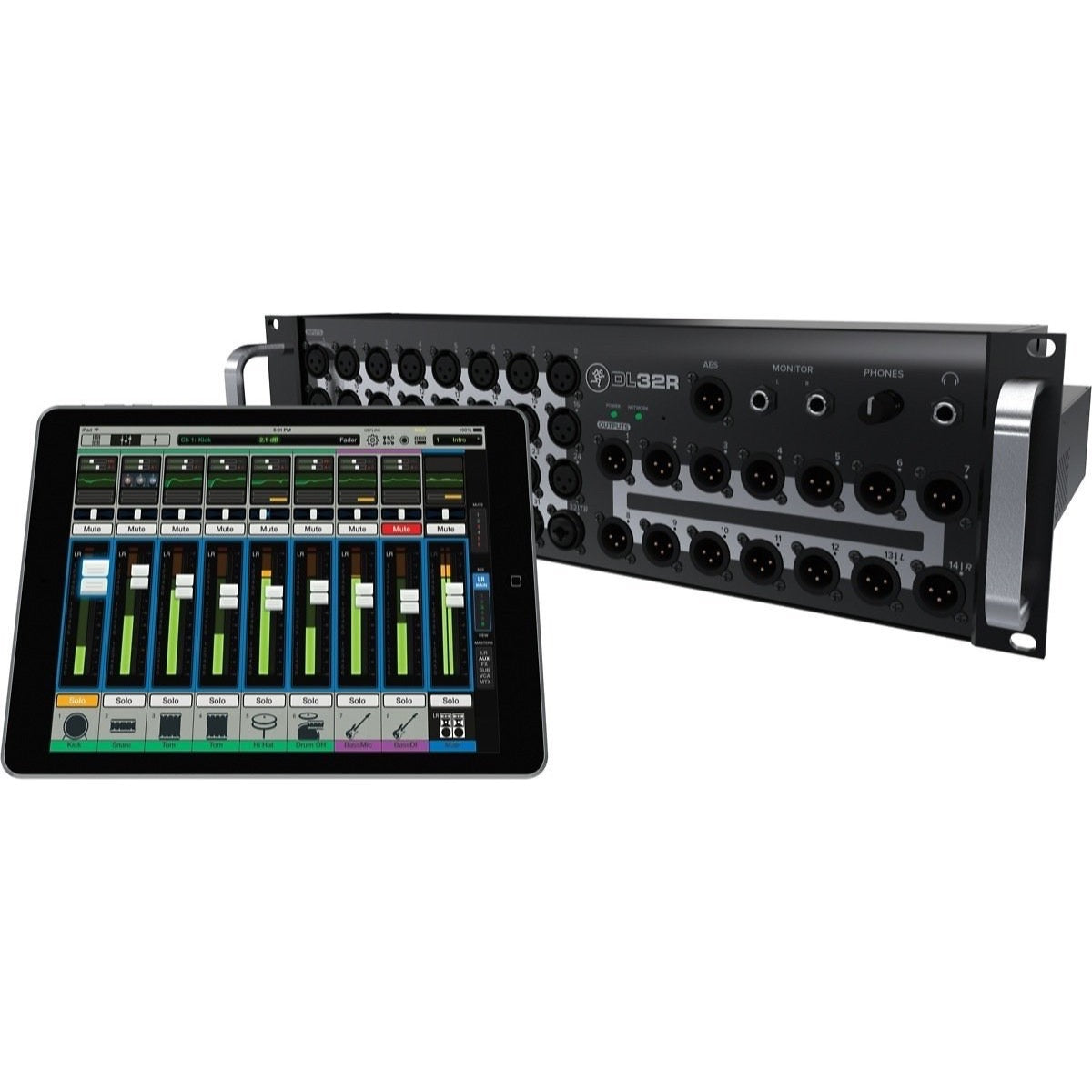 Mackie DL32R Wireless Digital Live Sound Mixer