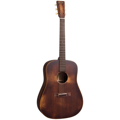 Martin D-15M StreetMaster Acoustic Guitar (with Gig Bag), Mahogany Burst