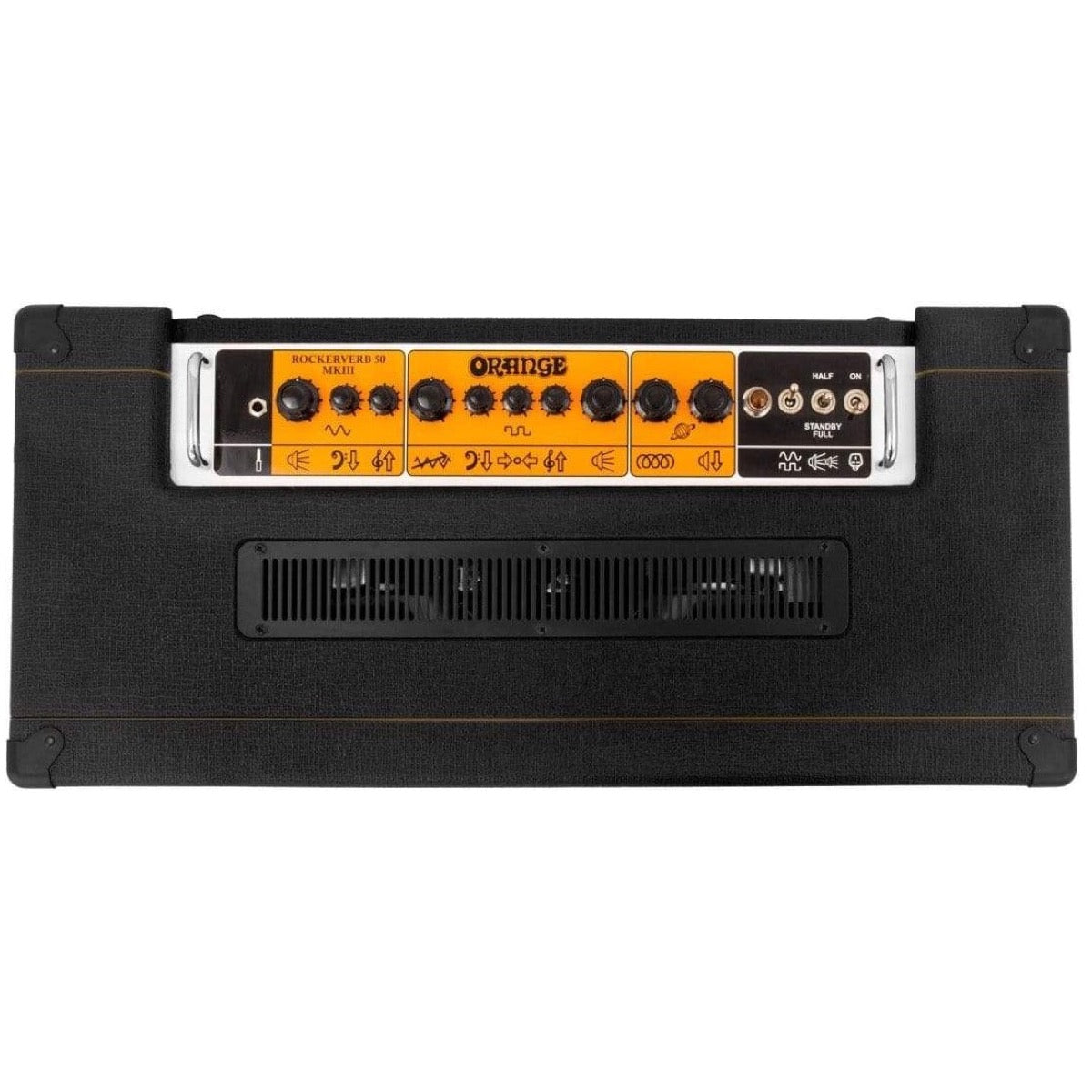 Orange Rockerverb MkIII Guitar Combo Amplifier (50 Watts), Black