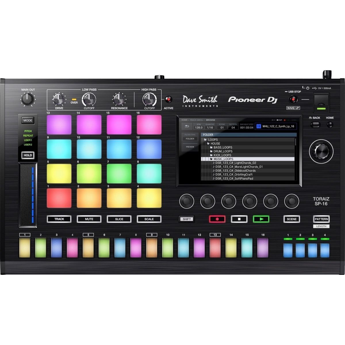 Pioneer DJ TORAIZ SP-16 Sampler and Sequencer